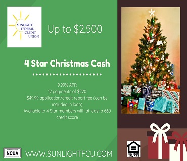4 Star Christmas Loan Promotion